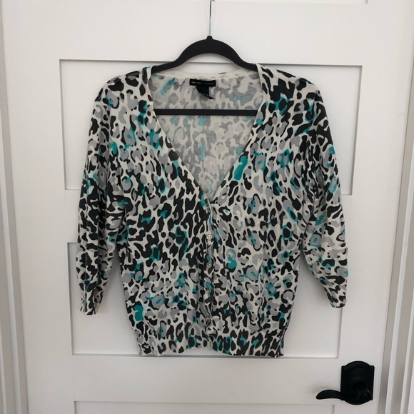New York & Company Sweaters - New York & company leopard sweater